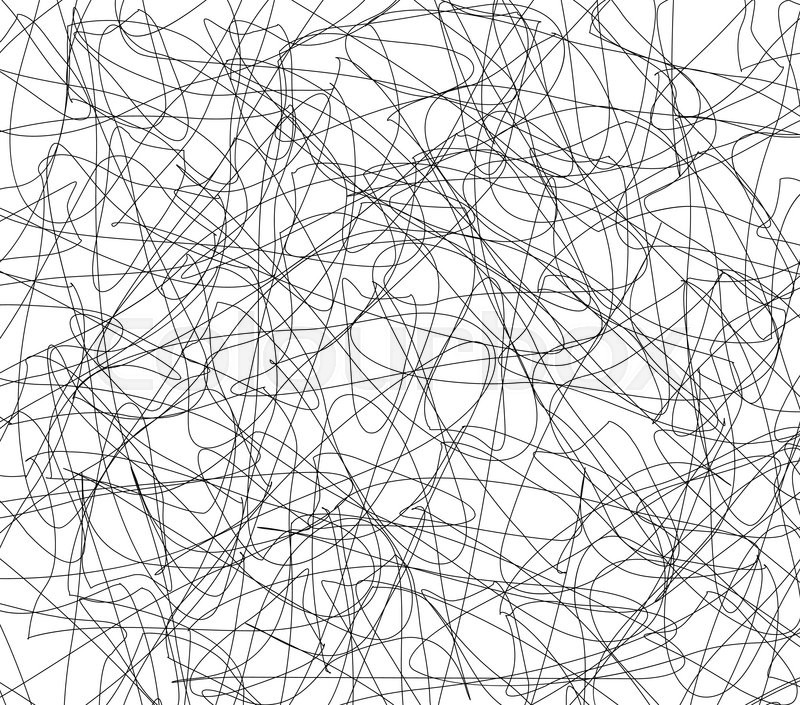 800x705 Random Lines Abstract Vector Texture. Entangled, Intersecting
