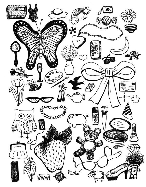 Random Things Drawing At Getdrawings Com Free For Personal Use