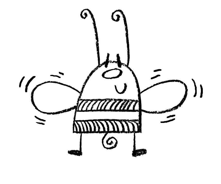 900x750 Draw Buzz The Bee Draw With Rich