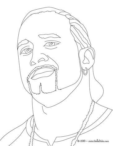 364x470 Wrestler Randy Orton Coloring Pages