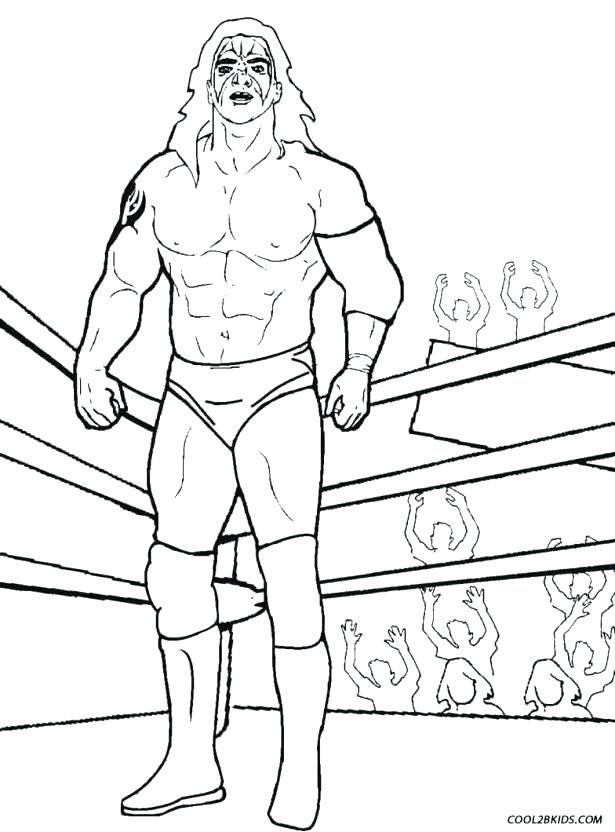 615x832 Wwe Color Pages Wwe Coloring Pages 2015 Synthesis.site