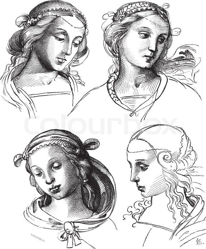 662x800 Pen Drawings By Raphael,