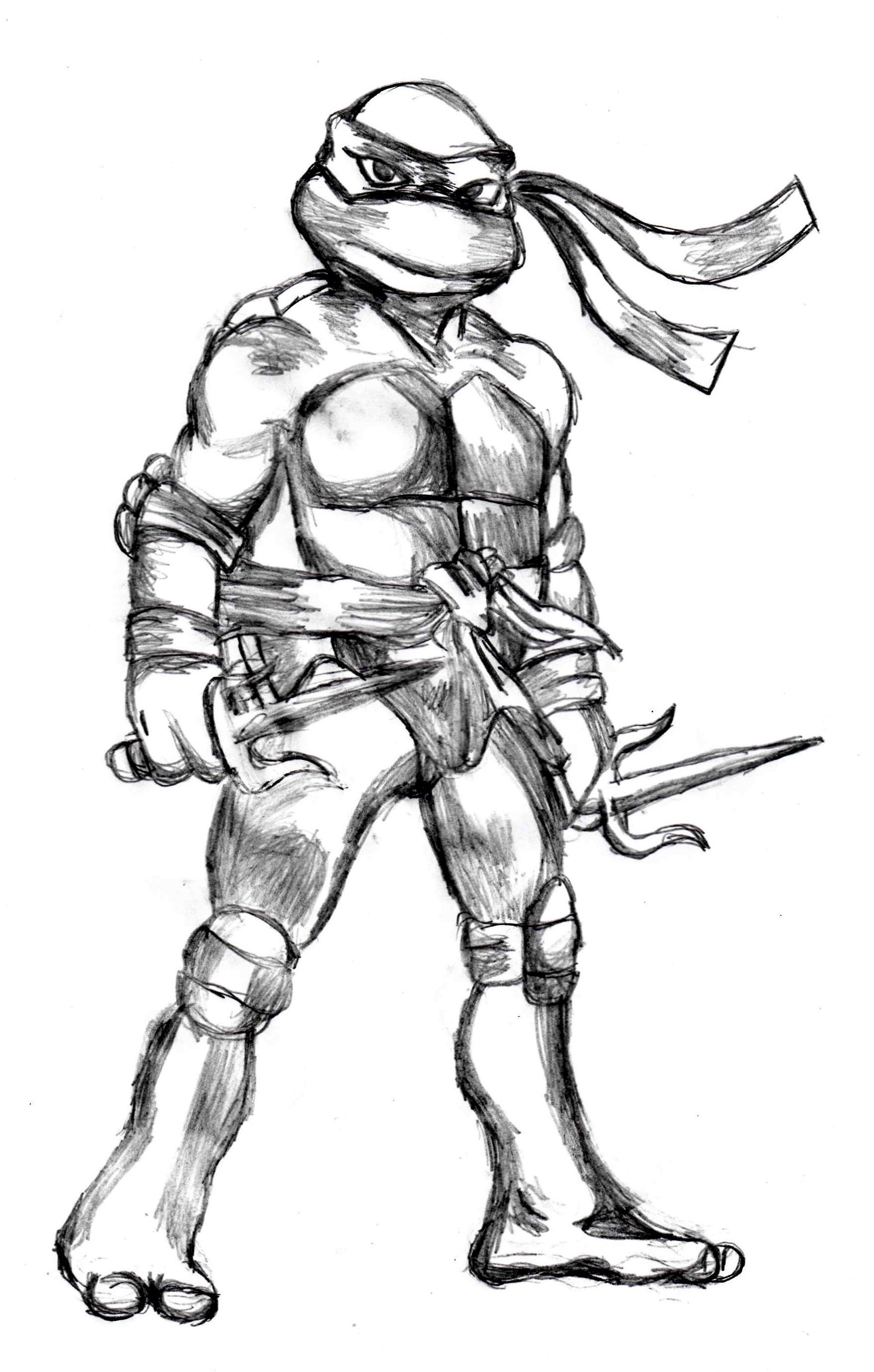 1762x2766 Raphael, Tmnt Drawing To Draw