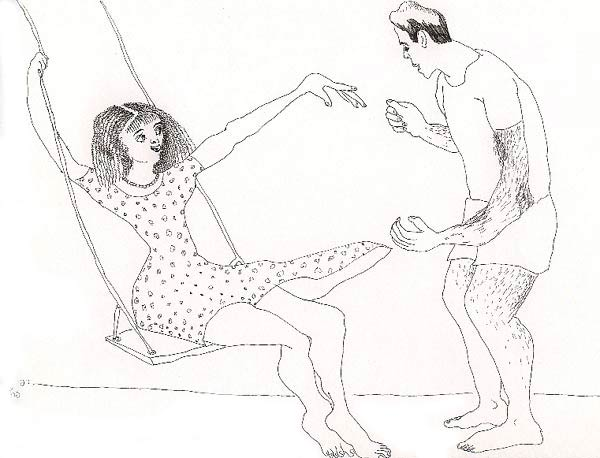 600x458 Drawing Of Male And Female Lovers Man Woman Love Erotic Men Women