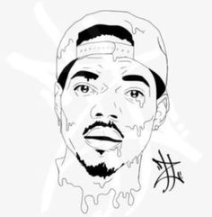 236x241 Chance The Rapper Art Poster 3 Sizes Acid Rap By Babesngents
