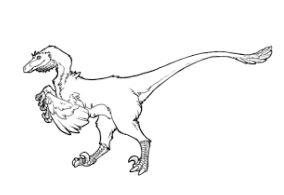 284x195 Dinosaur Jurassic Park Indominus Rex Coloring Page