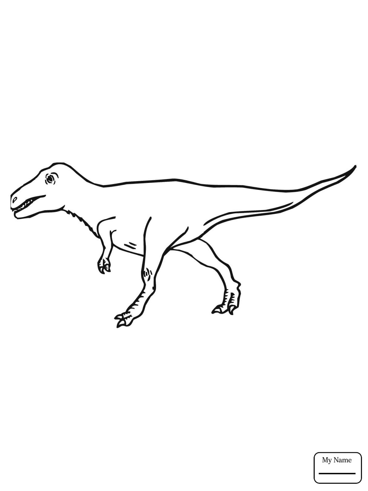 1224x1632 Dinosaur Velociraptor Dinosaurs Coloring Pages For Kids