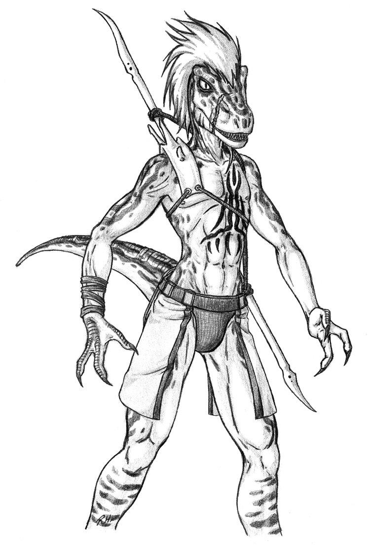 Raptor Drawing