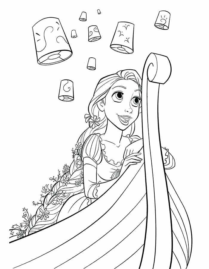 700x900 Epic Disney Rapunzel Coloring Pages Free Download
