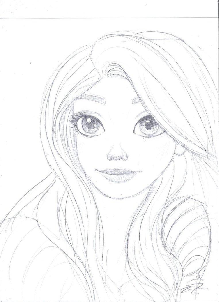 762x1048 Rapunzel