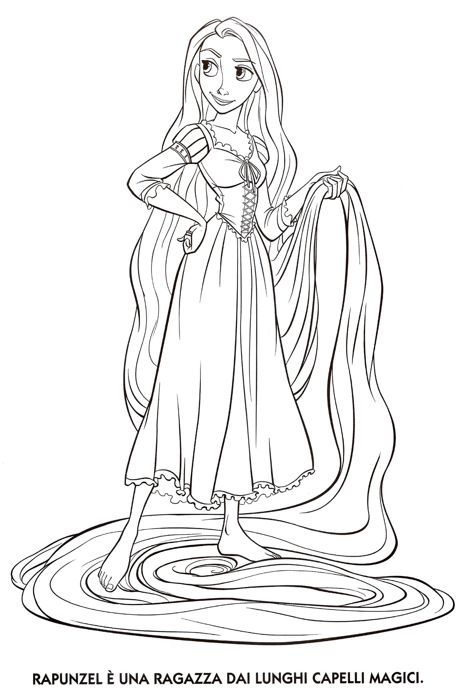 1480x2213 Rapunzel Coloring Pages