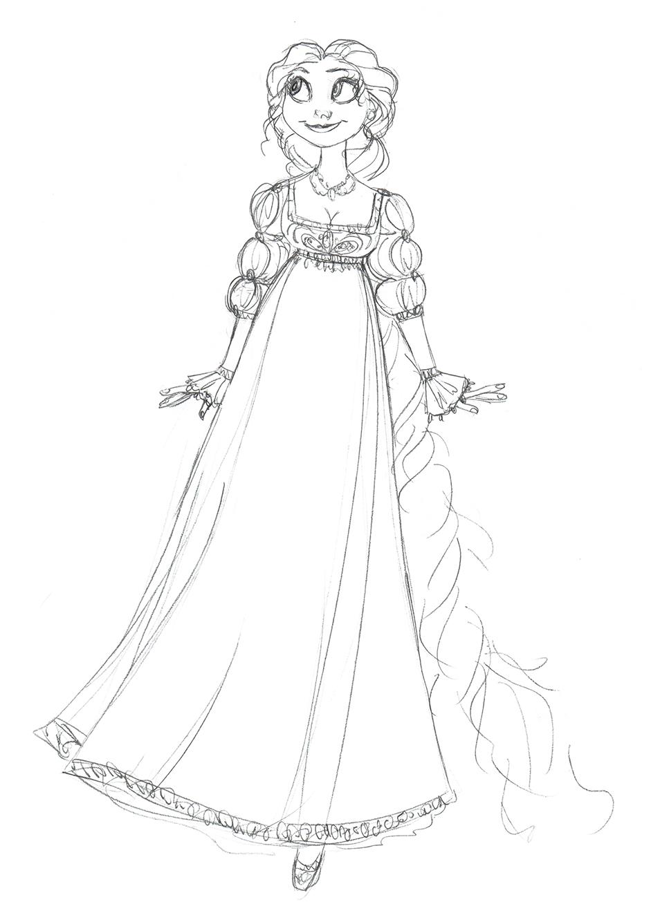 954x1334 Rapunzel Concept By Djeffers
