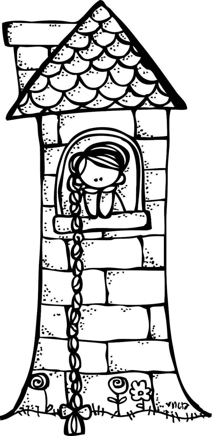 736x1509 Rapunzel Braid Clipart