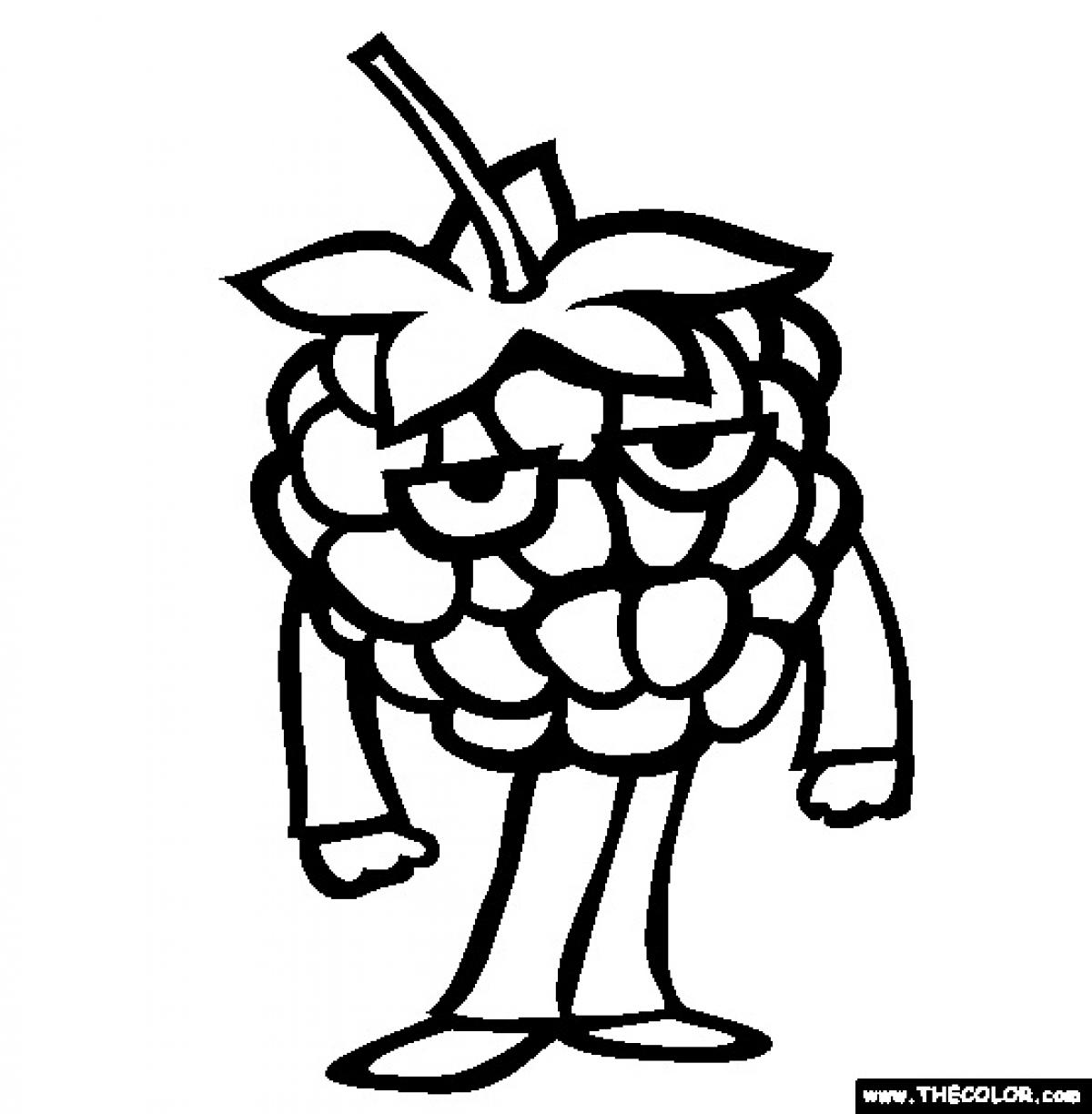 1200x1224 Raspberry Coloring Pages Nice Coloring Pages For Kids
