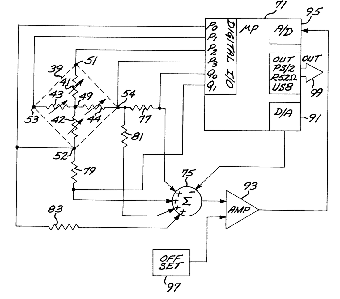 1100x967 Patent Us6243077 Sensor And Circuit Architecture For Three Axis