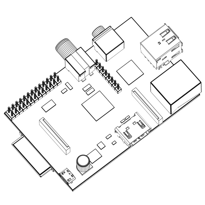 Raspberry Pi Drawing At Getdrawings Com