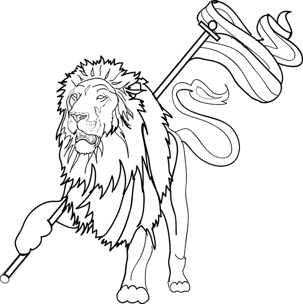 600x602 Lion Of Judah By Blinedzine3