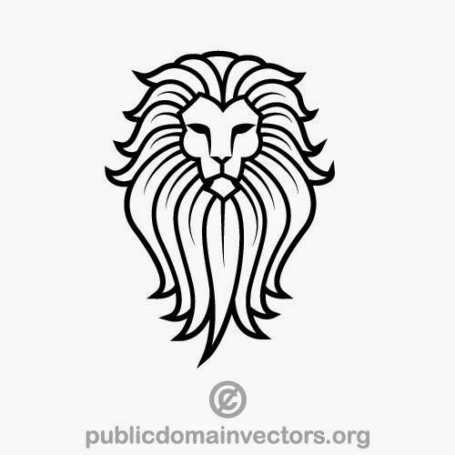 500x500 Lion Vector Graphics Download Inspiration Work