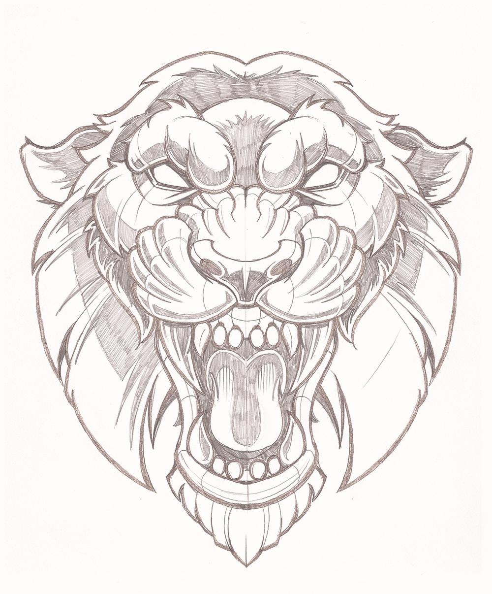 1000x1206 Vector Tiger Illustration 1 Work Ideas Tiger