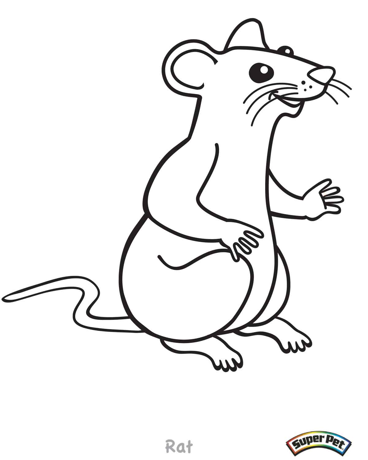 coloring pages of rat terriers - photo#13