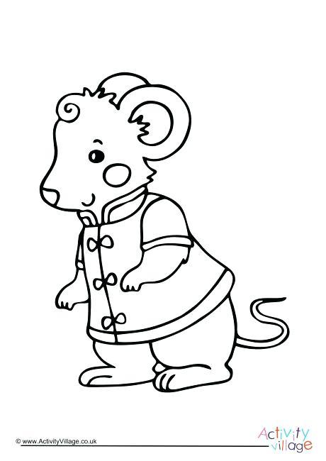 460x650 Rat Coloring Pages Affan