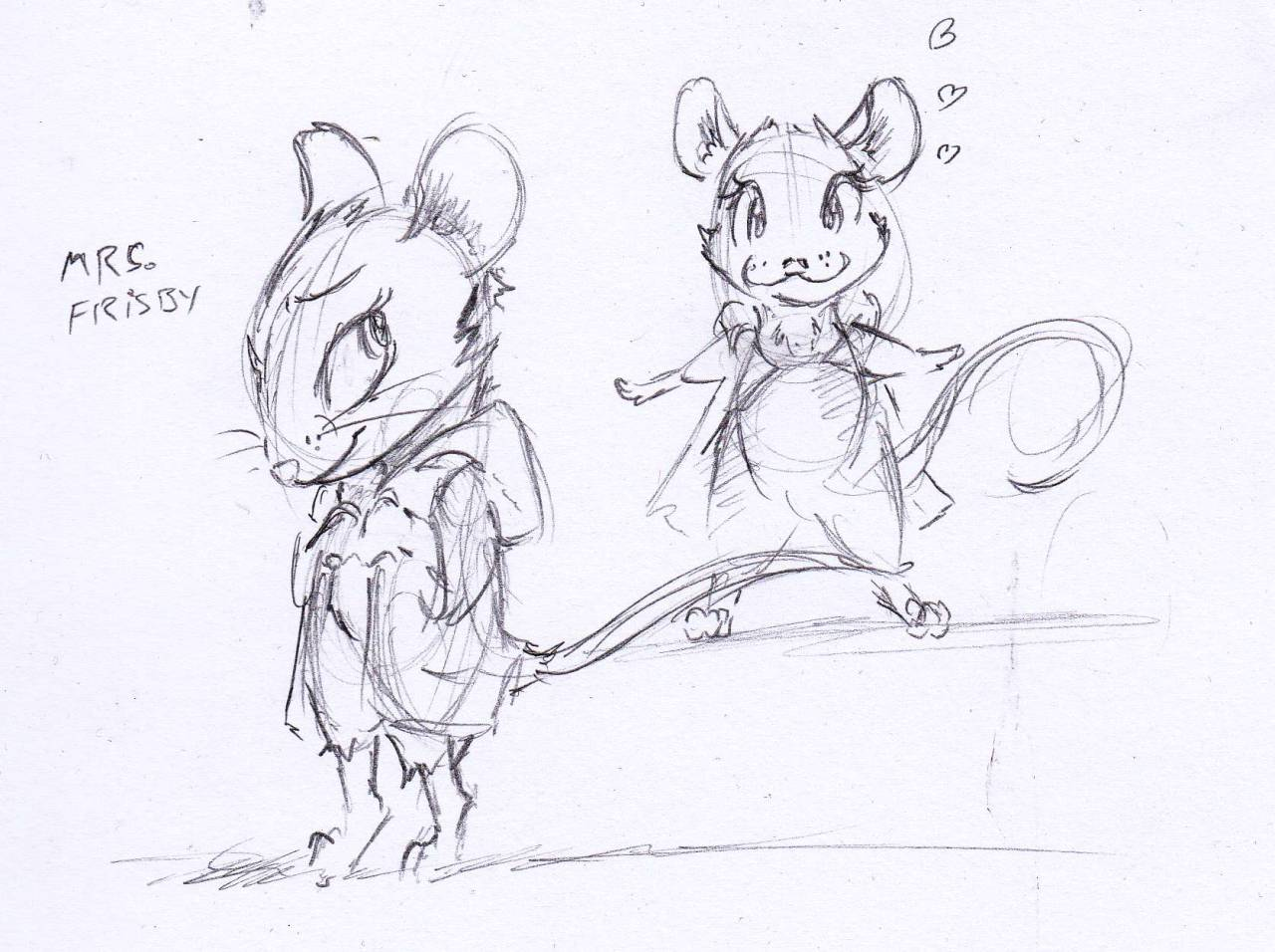 1280x956 Art From The Inmates Mrs Frisby From Frisby And The Rats