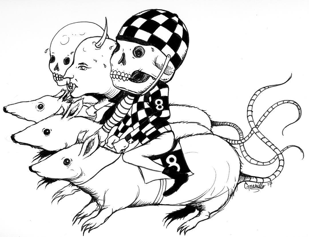 1080x827 Drawing Rats Sketch On Instagram