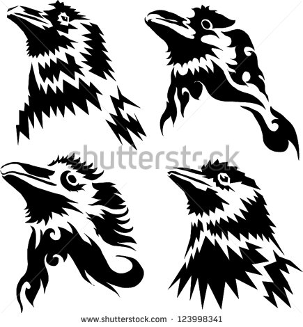 435x470 14 Crow Tattoo Designs, Samples And Ideas