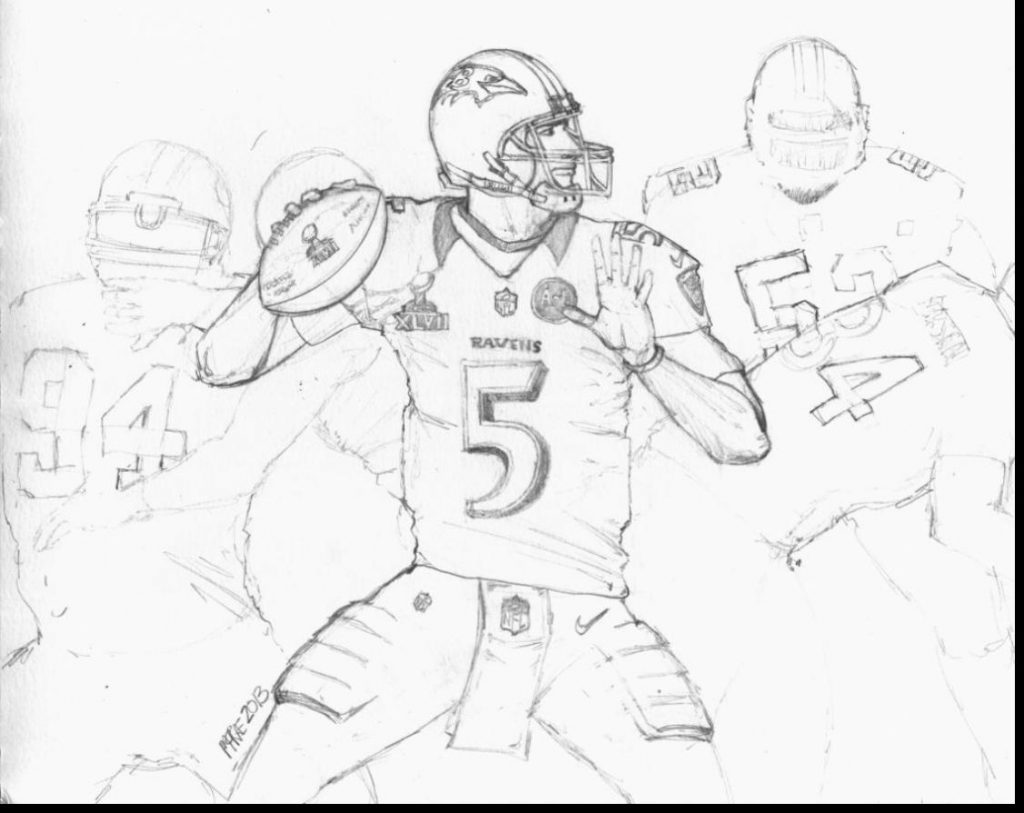 Ravens Drawing at GetDrawings.com | Free for personal use Ravens ...