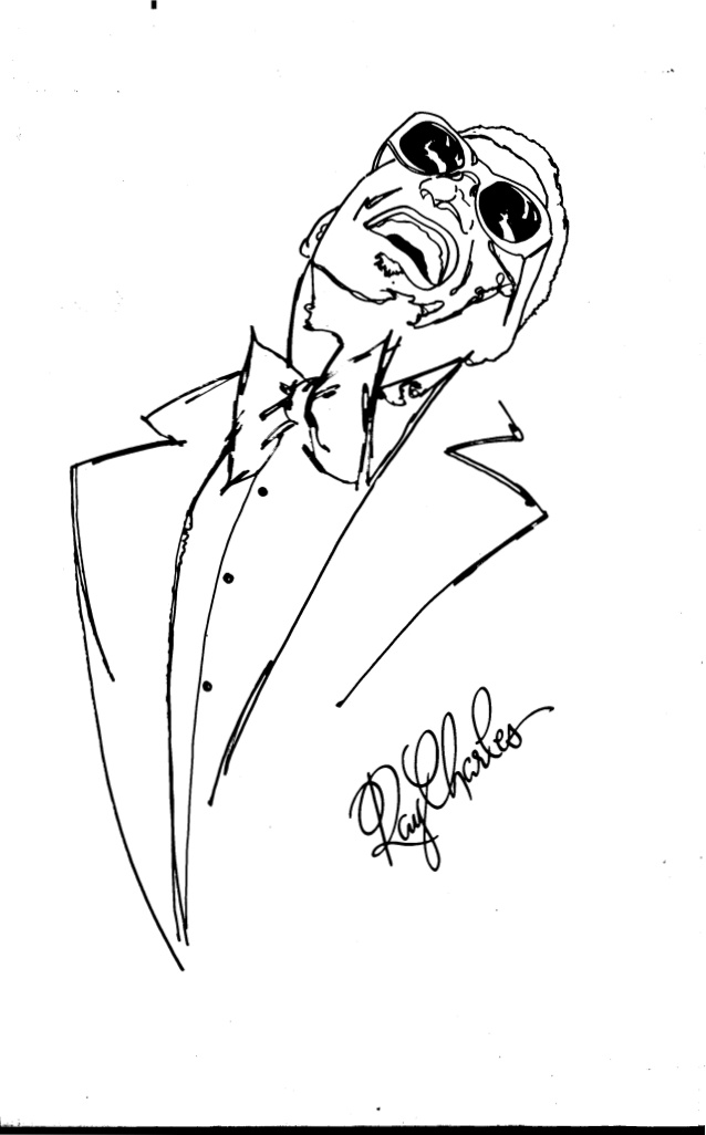 638x1026 Ray Charles Coloring Pages Ray Charles Silhouette