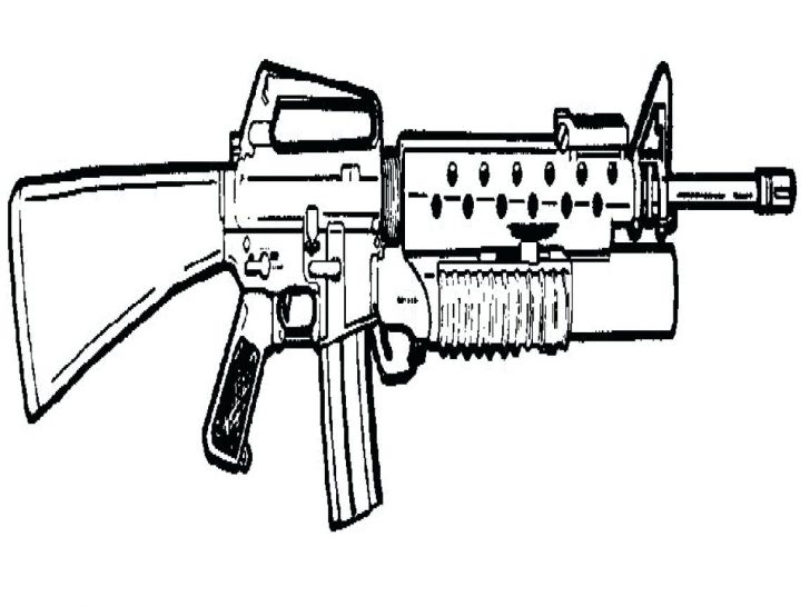 728x546 Gun Coloring Pages Nerf Pictures Unique Page Vector Images Stocks