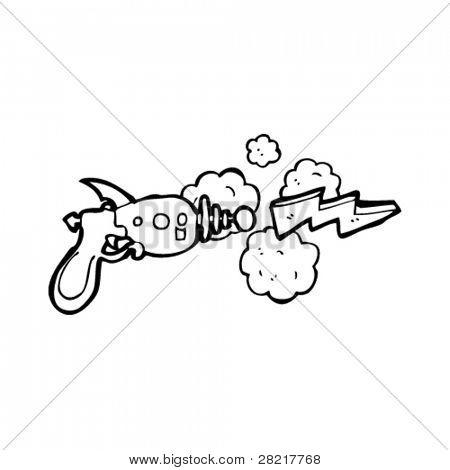 450x470 Ray Gun Shooting Lightning Bolt Vector Amp Photo Bigstock