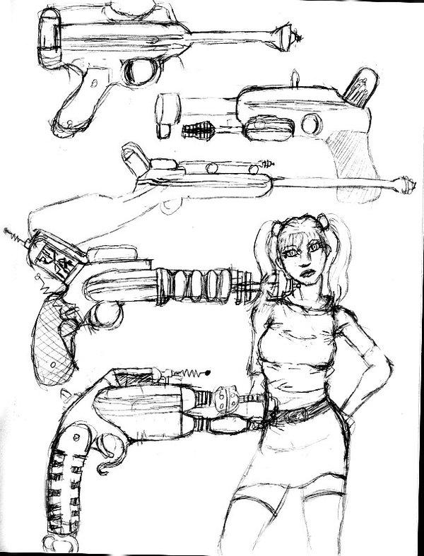 600x787 Ray Guns By Sci Fiwasabi