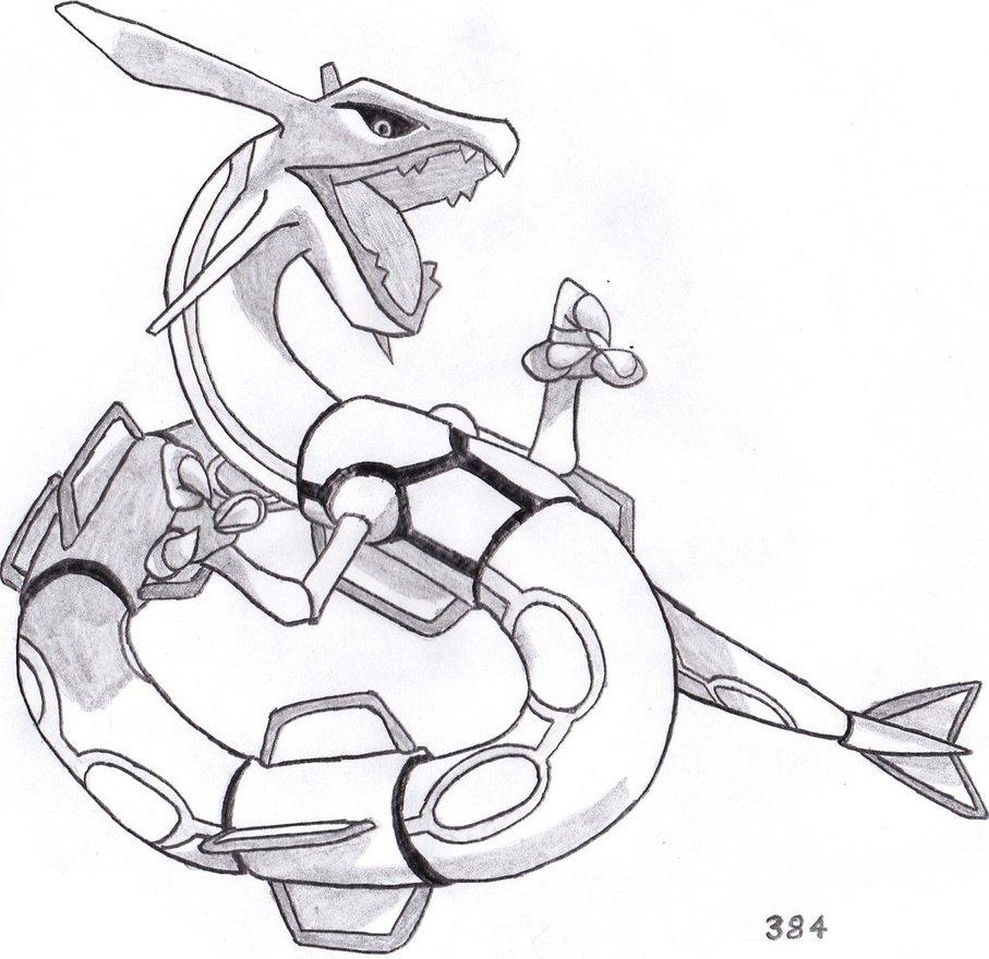 Rayquaza Drawing