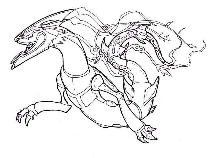 pokemon mega kyogre coloring pages - photo#25