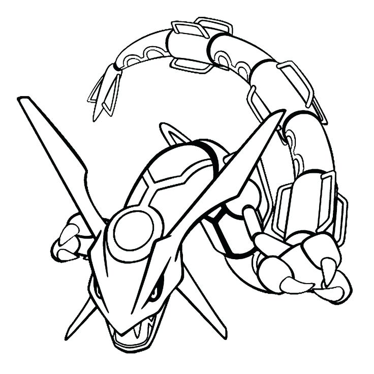 how to draw rayquaza ex
