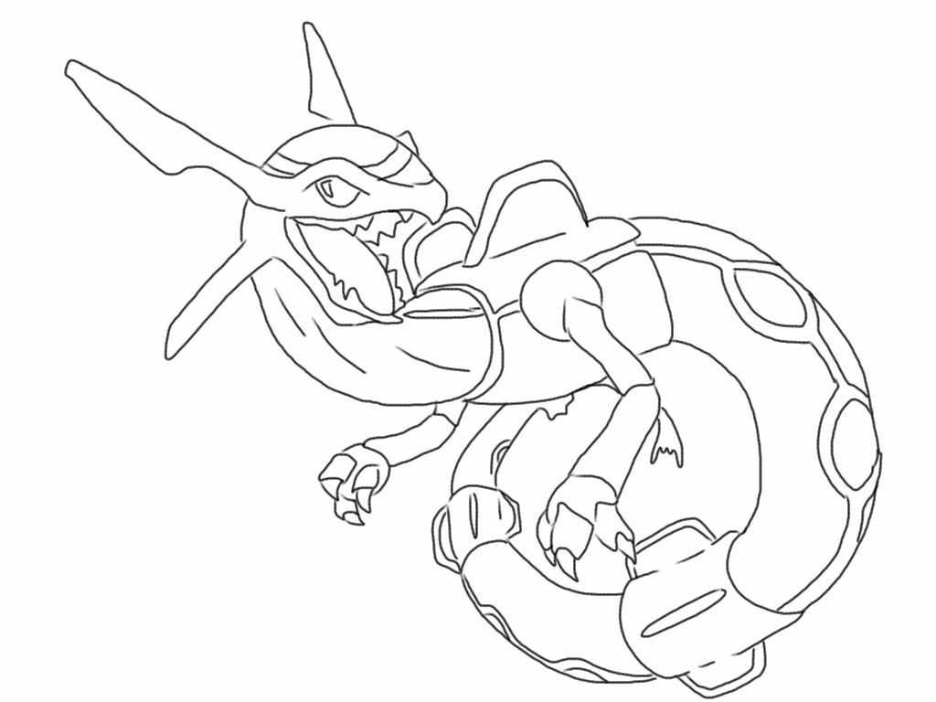 Rayquaza Drawing at GetDrawings | Free download