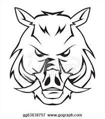211x239 Boar 20clip 20art Royalty Free Vector Of A Black And White