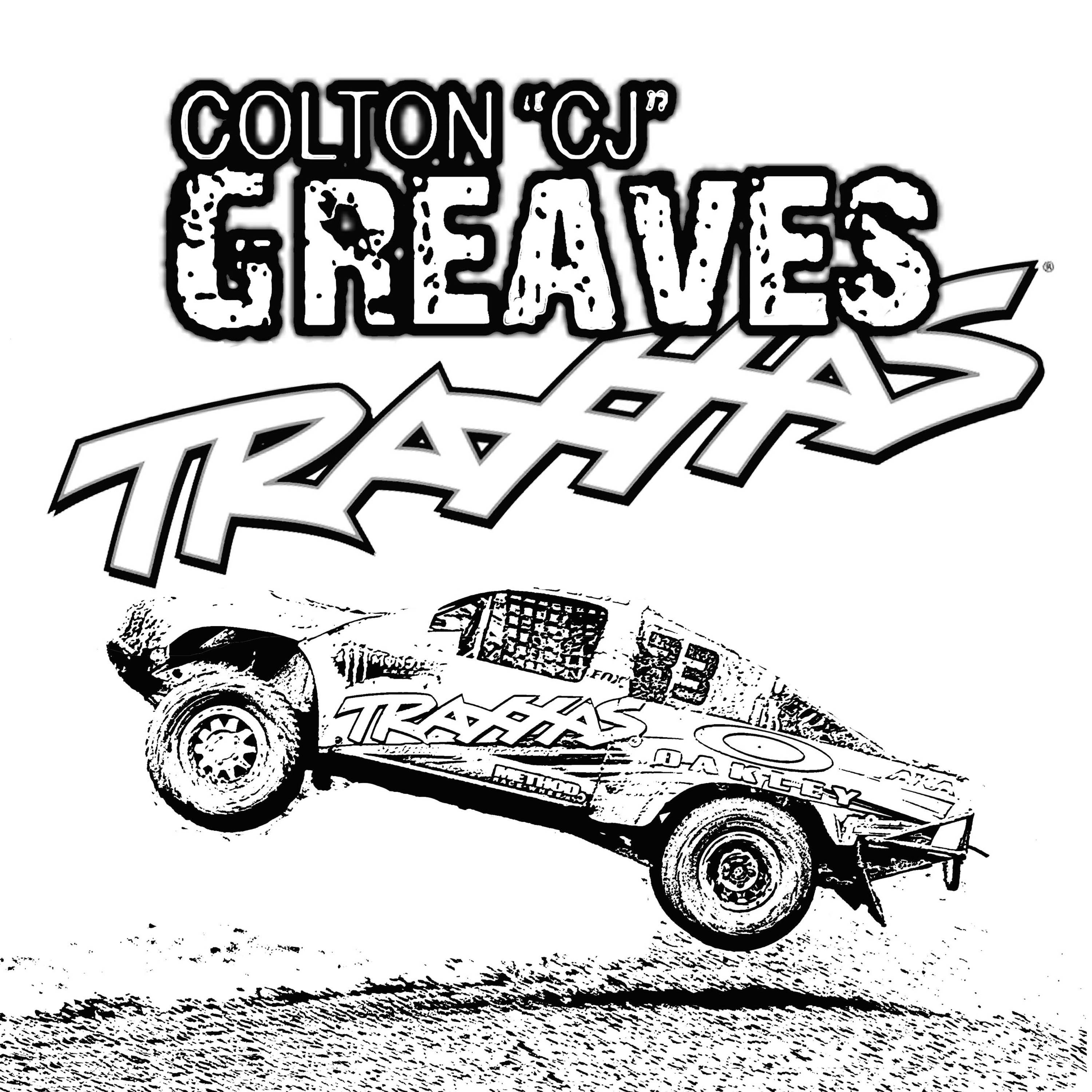 It's just a picture of Striking rc car coloring pages