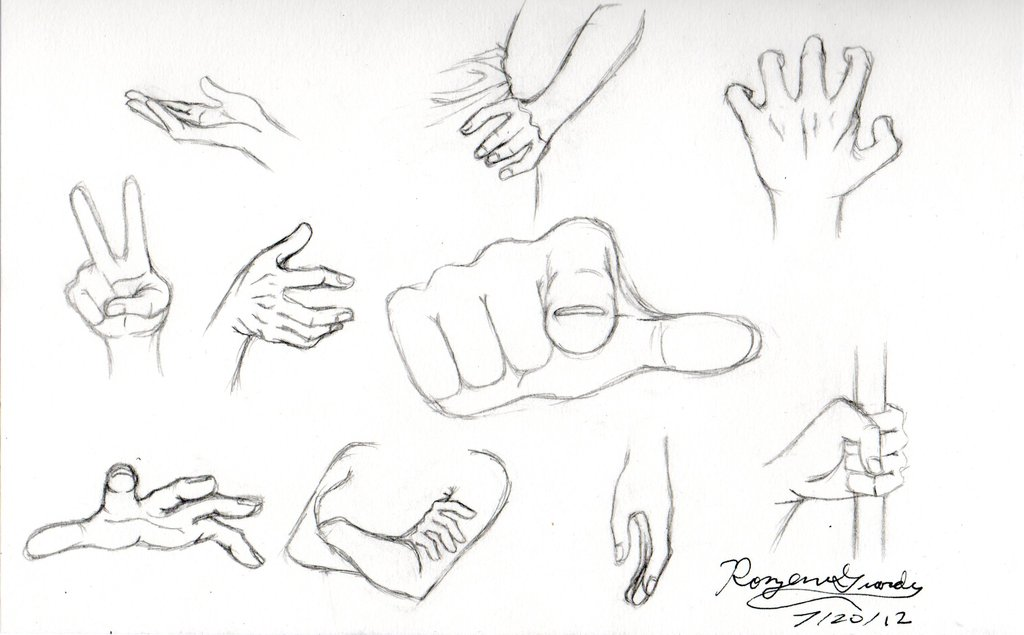 1024x635 Hand Sketches By Rozen Guarde