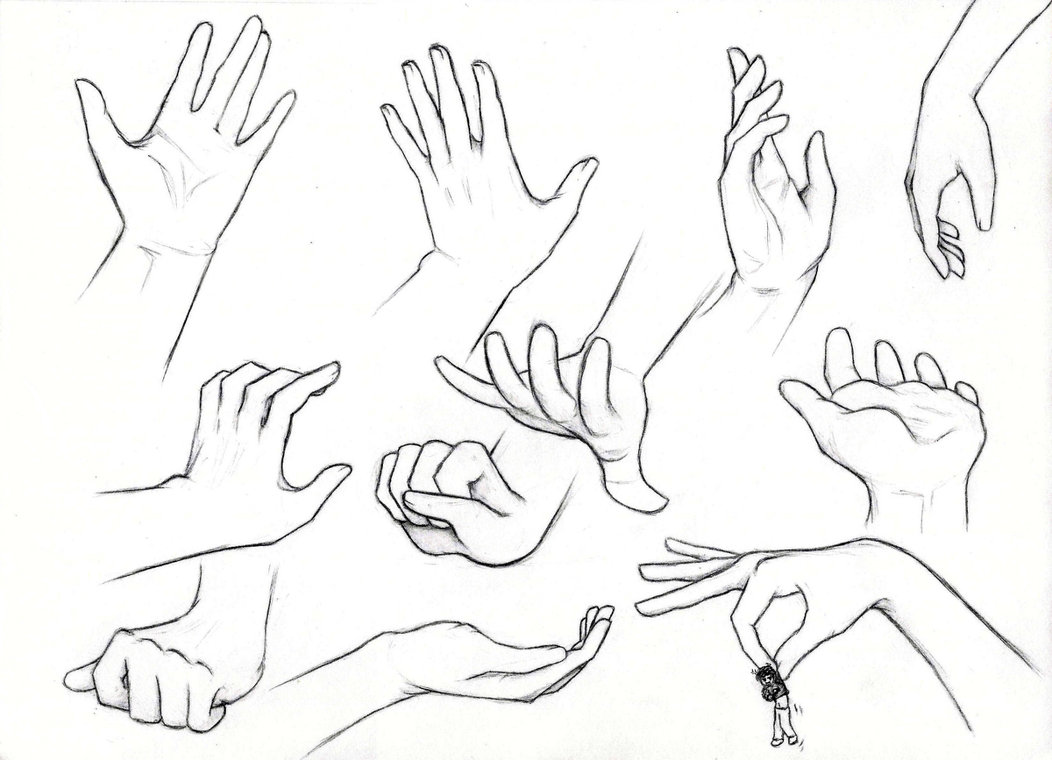 1052x760 Hands! By Bethelina