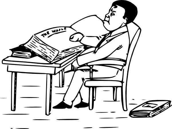 600x449 Man Reading Books Clip Art Free Vector In Open Office Drawing Svg