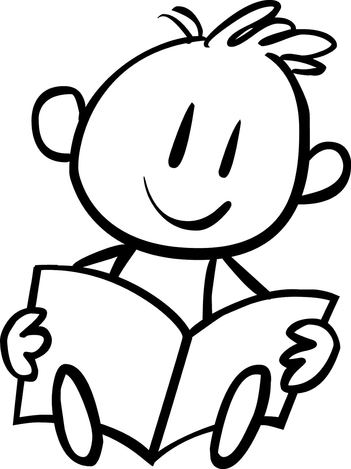 1198x1600 Reading Baby Einstein Coloring Pages For Kids Free Printable