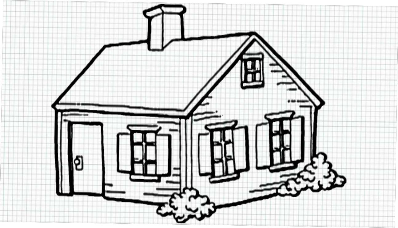 1294x744 Good Simple Farmhouse Drawing Show 2018