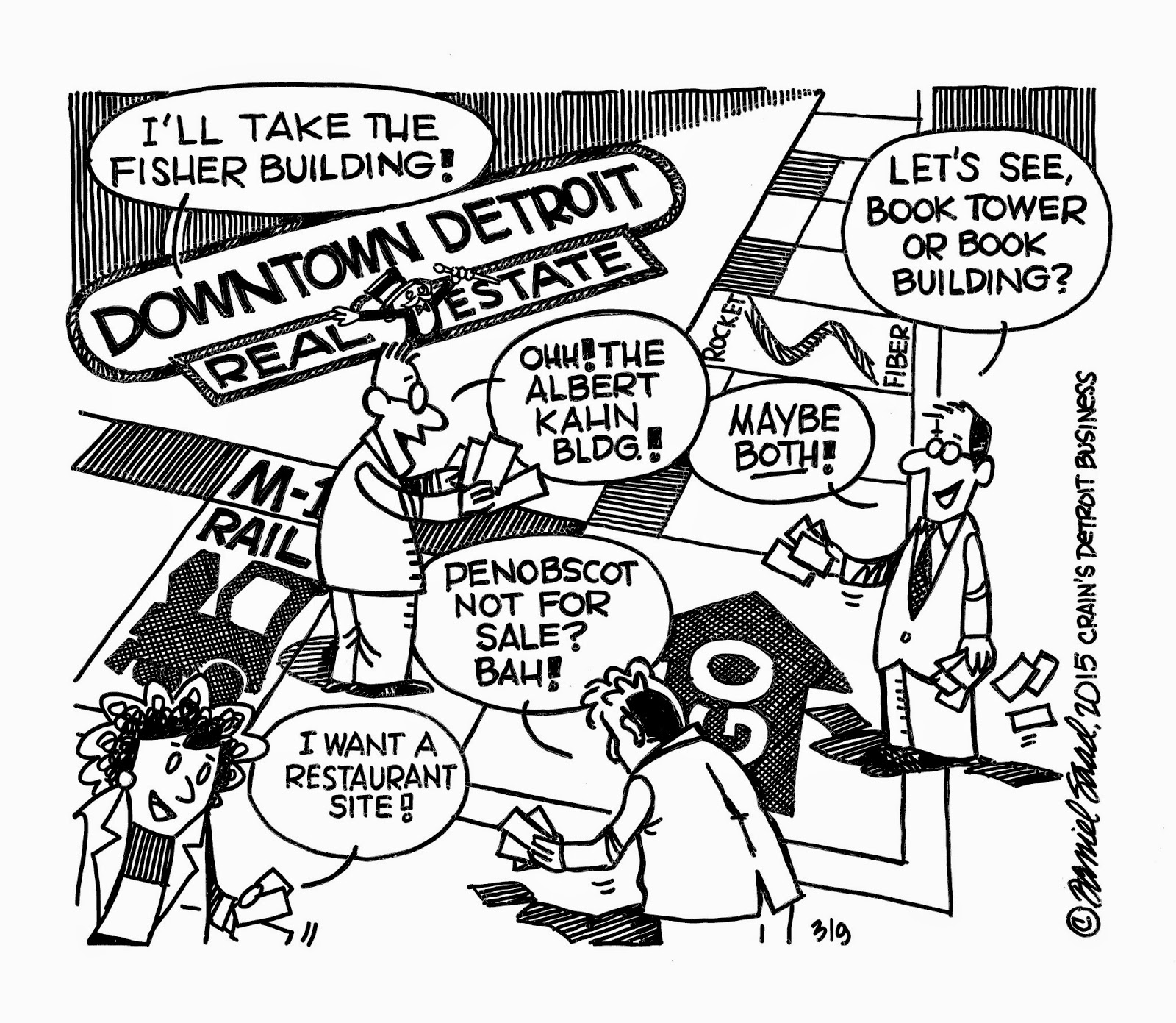 1600x1391 Pen Points Cartoon Of The Week The Downtown Real Estate Game