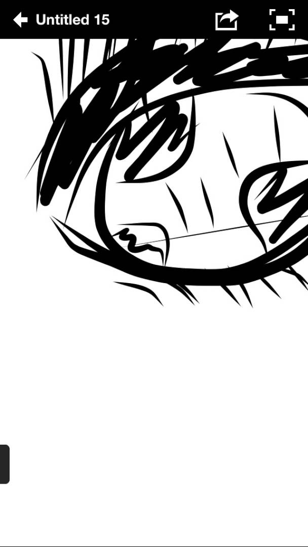 608x1080 Drawing Eyes On An App Using Idevice Half Real Half Anime Ish