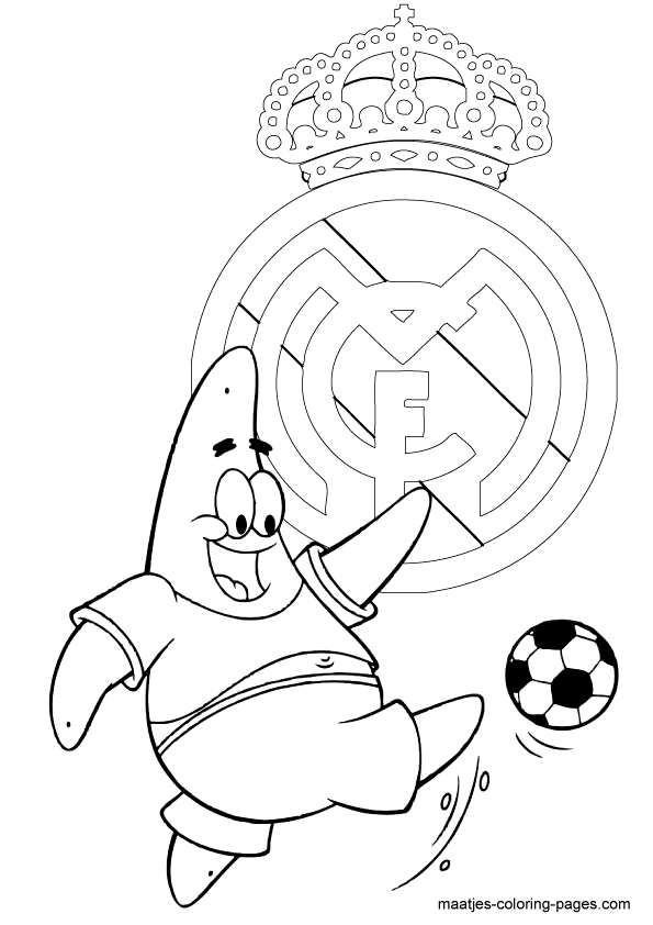 Real Madrid Logo Drawing At Getdrawings Com Free For Personal Use