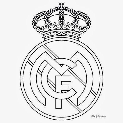 512x512 Plantilla Del Escudo Del Real Madrid. Otros Real