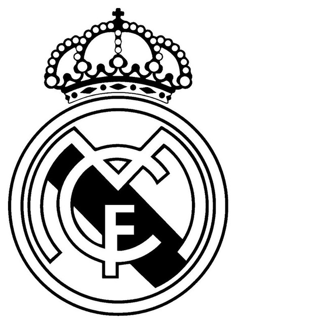 640x640 Real Madrid Football Jdm Funny Vinyl Decal Car Sticker Window Wall