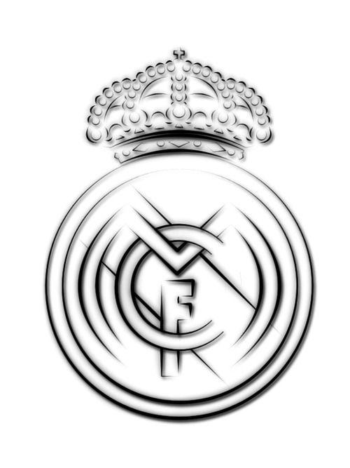 Real Madrid Logo Drawing At Getdrawings Com